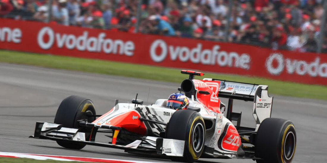 Daniel Ricciardo GP England 2011 Rennen