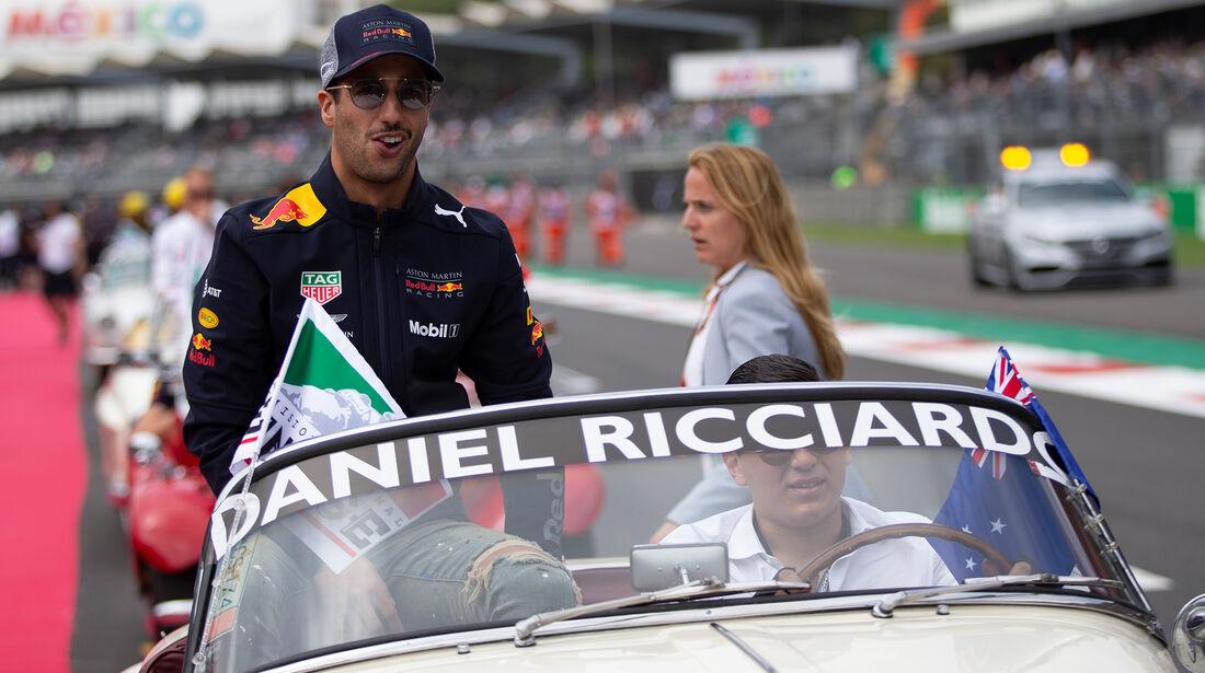 Daniel Ricciardo - GP Mexiko 2018