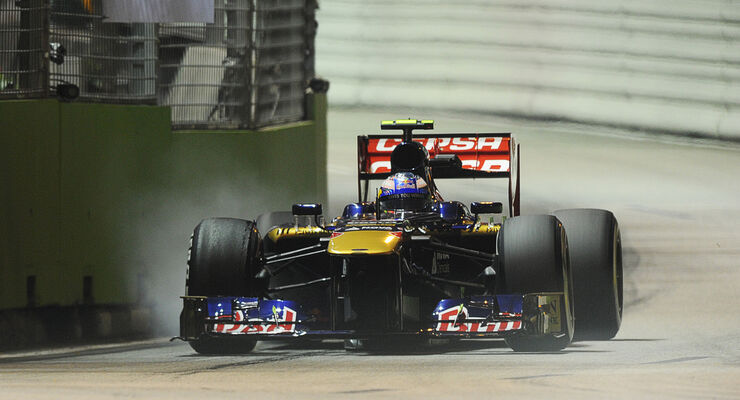 Daniel Ricciardo GP Singapur 2013