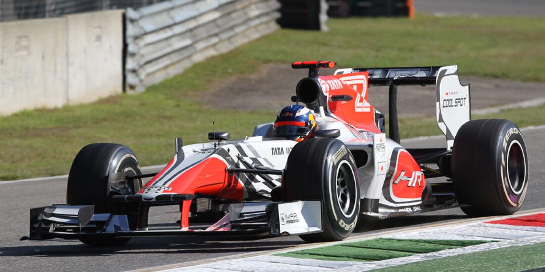 Daniel Ricciardo HRT GP Italien 2011
