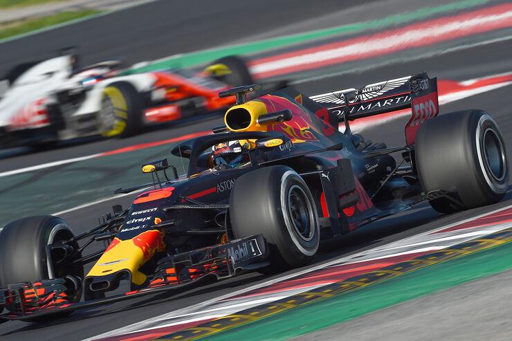Daniel Ricciardo - Red Bull - F1-Test - Barcelona - Tag 5 - 6. März 2018