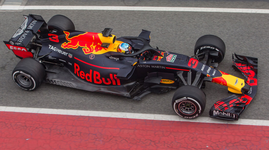 Daniel Ricciardo - Red Bull - F1-Testfahrten - Barcelona - 1. Woche
