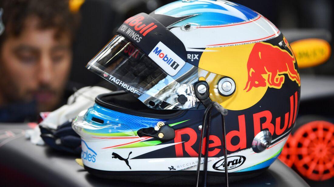 Daniel Ricciardo - Red Bull - Formel 1 - GP Brasilien - 10. November 2017