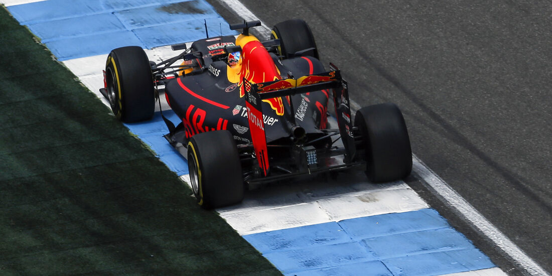 Daniel Ricciardo - Red Bull - Formel 1 - GP Deutschland - 29. Juli 2016
