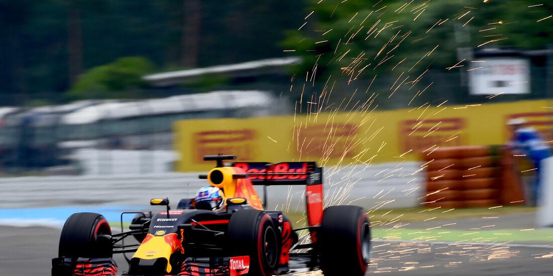 Daniel Ricciardo - Red Bull - Formel 1 - GP Deutschland - Hockenheim - 29. Juli 2016