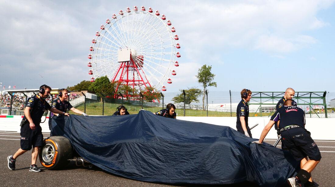 Daniel Ricciardo - Red Bull - Formel 1 - GP Japan - 3. Oktober 2014