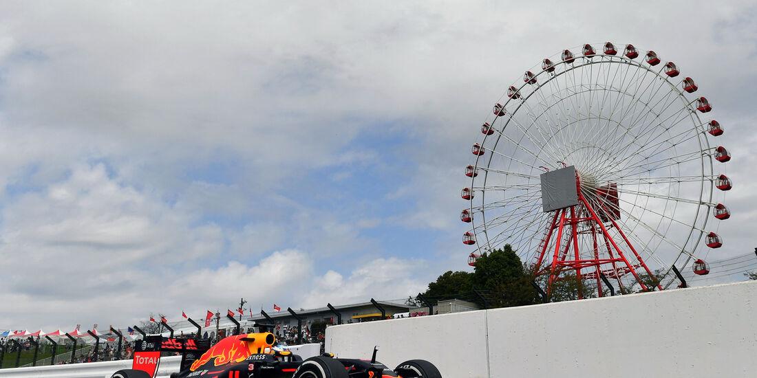 Daniel Ricciardo - Red Bull - Formel 1 - GP Japan - Suzuka - Freitag - 7.10.2016