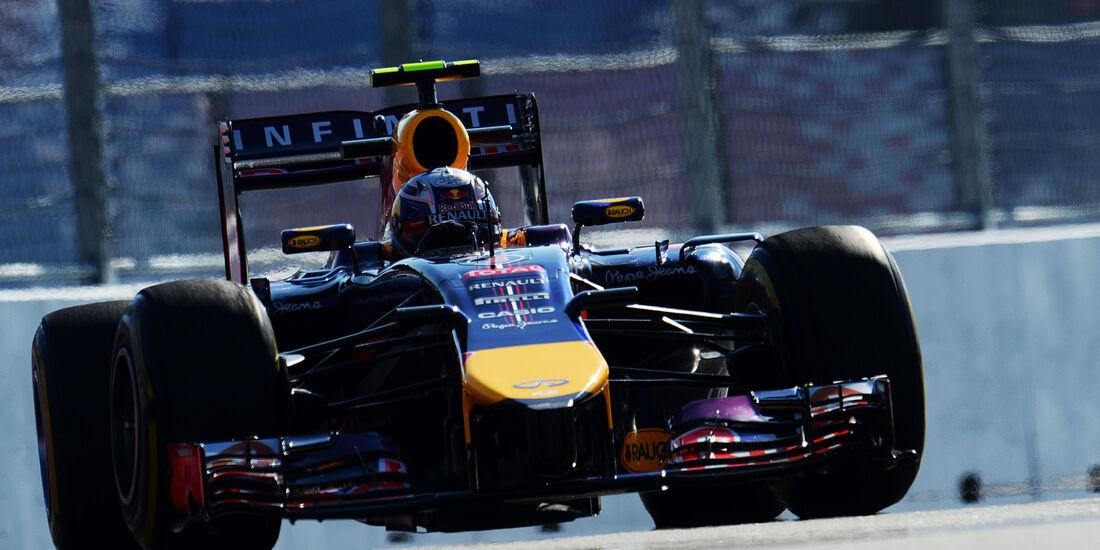 Daniel Ricciardo - Red Bull - Formel 1 - GP Russland - Sochi - 10. Oktober 2014