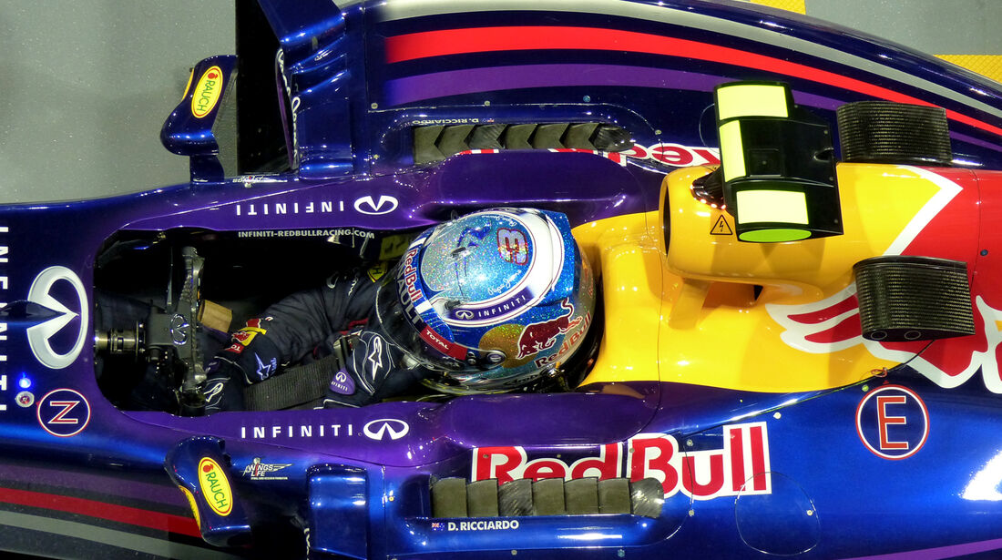 Daniel Ricciardo - Red Bull - Formel 1 - GP Singapur - 19. September 2014