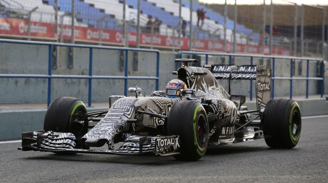 Daniel Ricciardo - Red Bull - Formel 1-Test - Jerez - 3. Februar 2015
