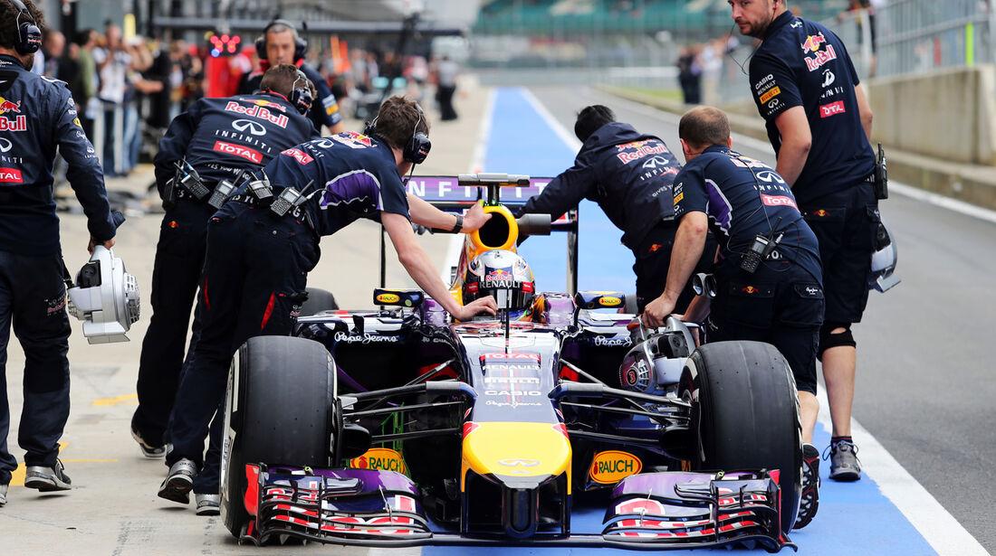 Daniel Ricciardo - Red Bull - Formel 1-Test - Silverstone 2014