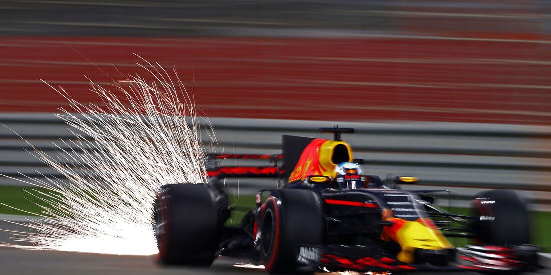 Daniel Ricciardo - Red Bull - GP Bahrain 2017 - Qualifying