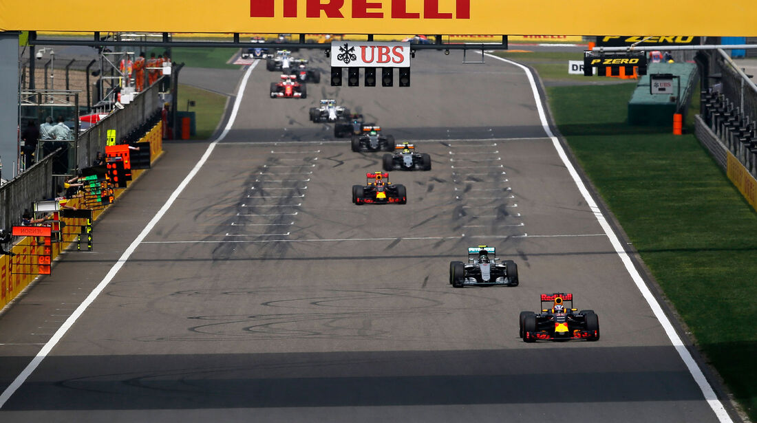 Daniel Ricciardo - Red Bull - GP China 2016 - Shanghai - Rennen