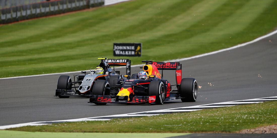 Daniel Ricciardo - Red Bull - GP England 2016 - Silverstone - Rennen