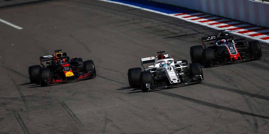 Daniel Ricciardo - Red Bull - GP Russland 2018 - Sotschi - Rennen