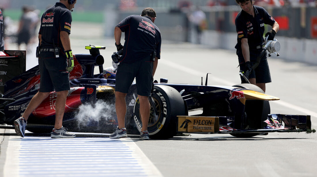 Daniel Ricciardo - Toro Rosso - Formel 1 - GP Italien - 7. September 2013