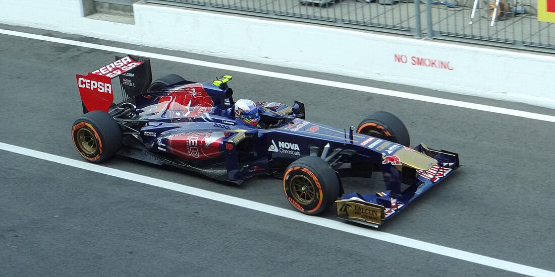 Daniel Ricciardo - Toro Rosso - Formel 1 - GP Italien - Monza - 6. September 2013
