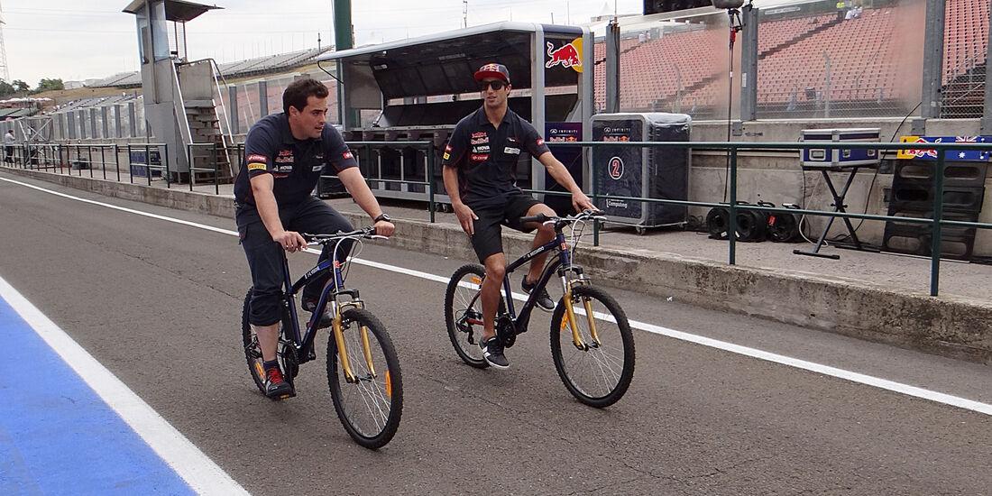 Daniel Ricciardo - Toro Rosso - Formel 1 - GP Ungarn - 25. Juli 2013