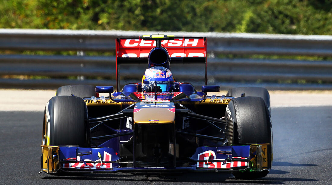 Daniel Ricciardo - Toro Rosso - Formel 1 - GP Ungarn - 26. Juli 2013