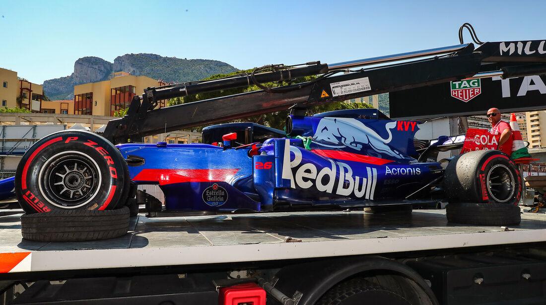 Daniil Kvyat - Formel 1 - GP Monaco 2017