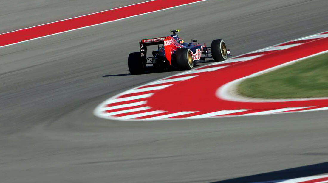 Daniil Kvyat - Formel 1 - GP USA - 1. November 2014