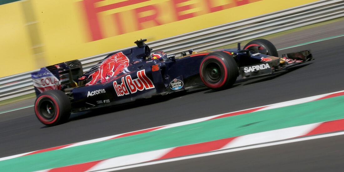 Daniil Kvyat - Formel 1 - GP Ungarn 2016