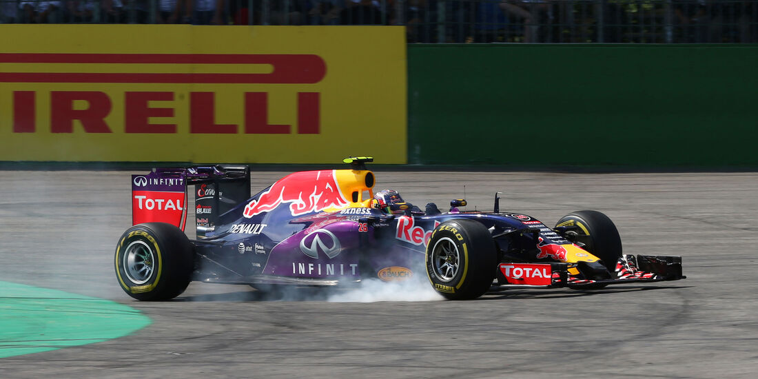 Daniil Kvyat - GP Belgien 2015