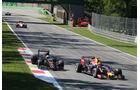 Daniil Kvyat - Red Bull - Fernando Alonso - McLaren-Honda - GP Italien 2015 - Monza