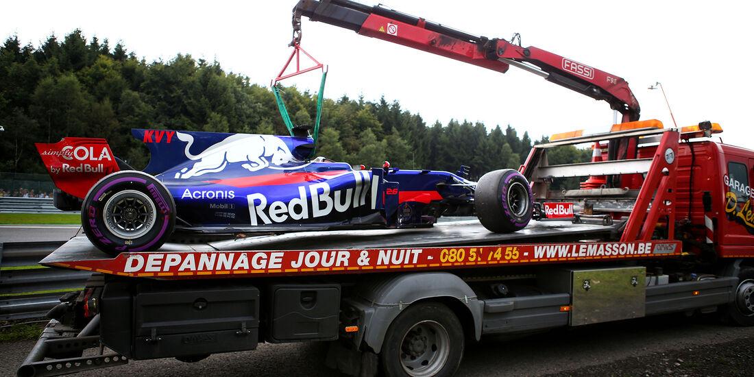 Daniil Kvyat - Toro Rosso - Formel 1 - GP Belgien - Spa-Francorchamps - 26. August 2017