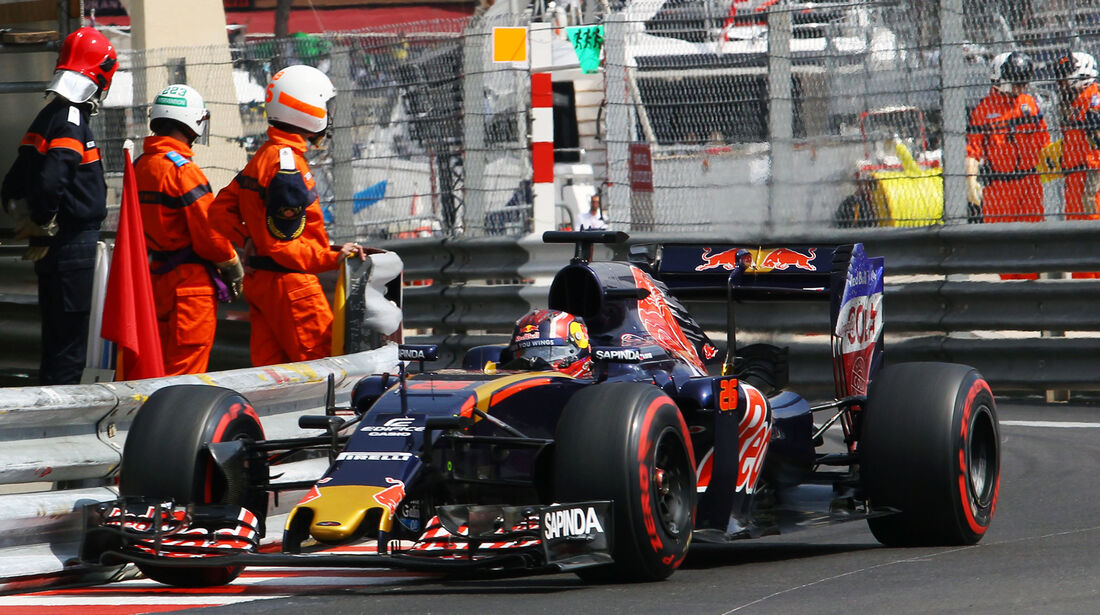 Daniil Kvyat - Toro Rosso - Formel 1 - GP Monaco - 26. Mai 2016