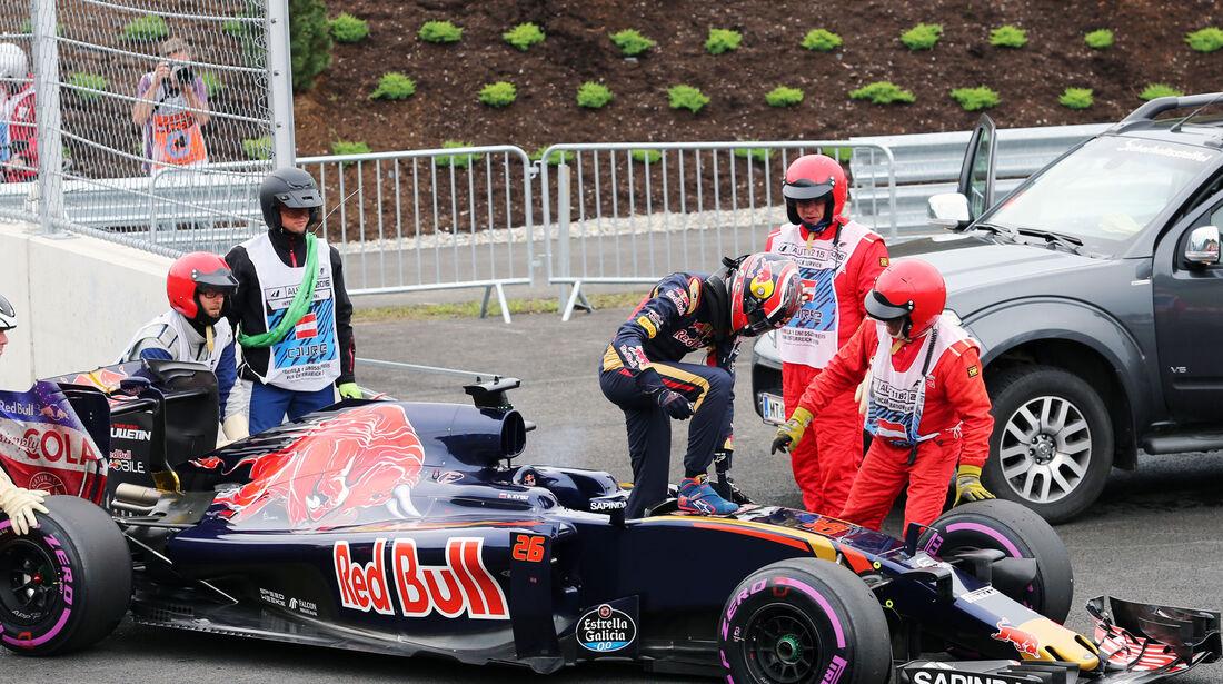 Daniil Kvyat - Toro Rosso - Formel 1 - GP Österreich - 3. Juli 2016