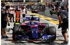 Daniil Kvyat - Toro Rosso - GP Ungarn - Budapest - Formel 1 - Freitag - 28.7.2017