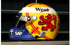 David Coulthard - Formel 1-Spezialhelme