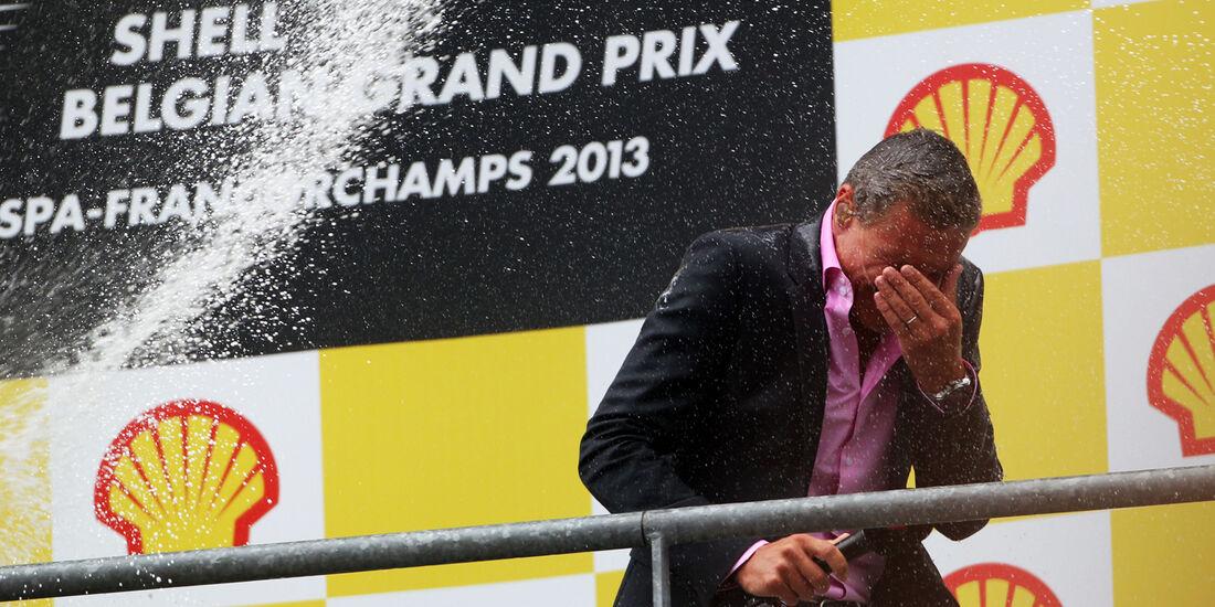 David Coulthard - GP Belgien 2013
