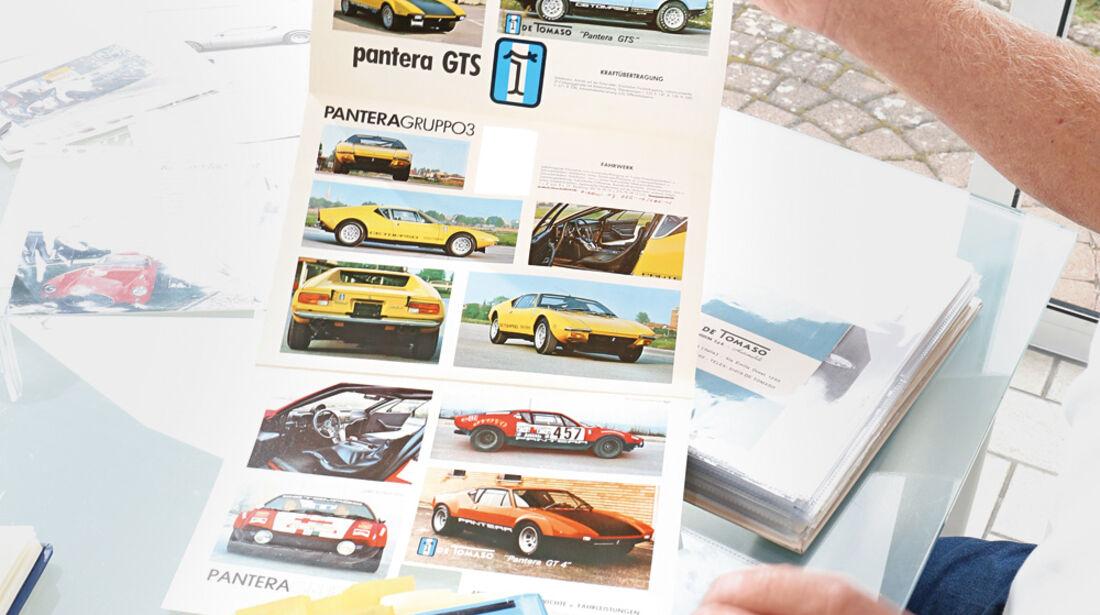 De Tomaso Pantera GR. 4, Katalog