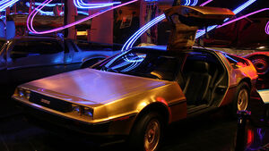 DeLorean im Petersen Automotive Museum, Los Angeles