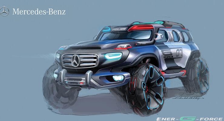 Design Challenge 2012 Mercedes Ener-G-Force