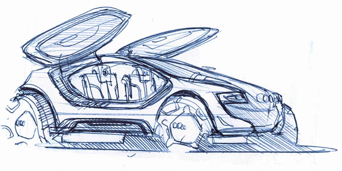 Designskizzen Audi