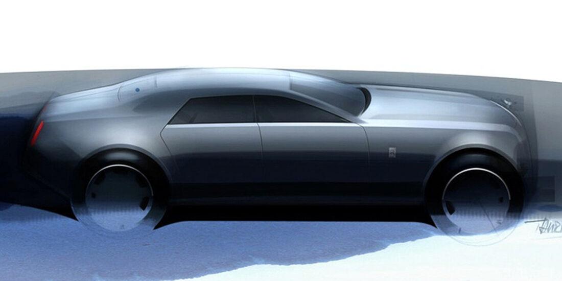 Designskizzen Rolls-Royce