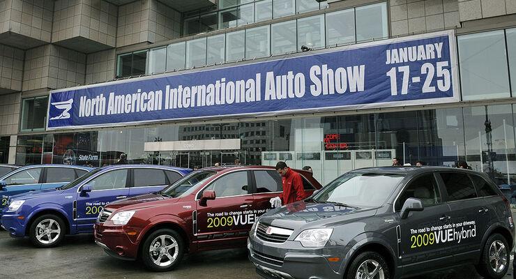 Detroit 2009 NAIAS Motor Show Messe