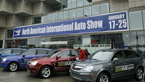 Detroit 2009 NAIAS Motor Show Messe