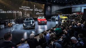 Detroit Mercedes Atmosphäre 2017