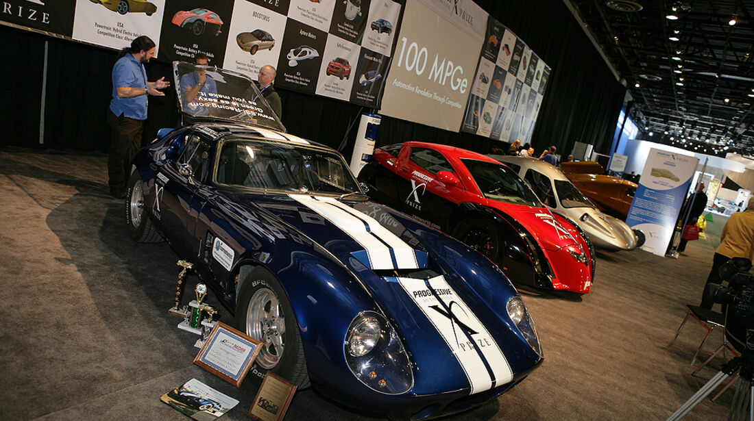 Detroit Motor Show, 2010,  Electric Avenue, NAIAS