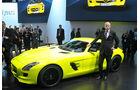 Detroit Motor Show 2011, Mercedes SLS AMG E-Cell