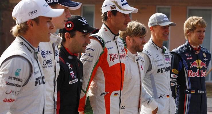 Deutsche F1-Piloten