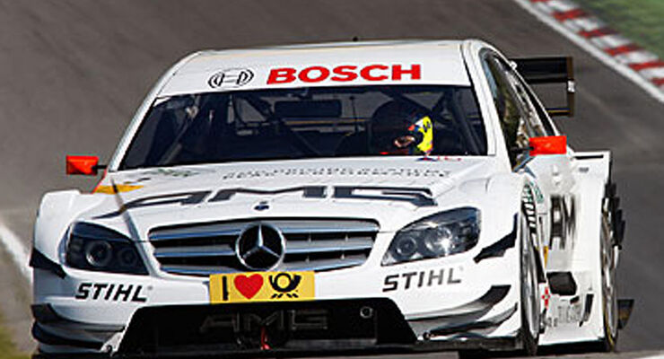 Di Resta Mercedes DTM 2009 Brands Hatch