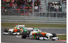 Di Resta & Sutil Force India GP Korea 2011