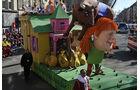 Die schönsten Karnevalswagen