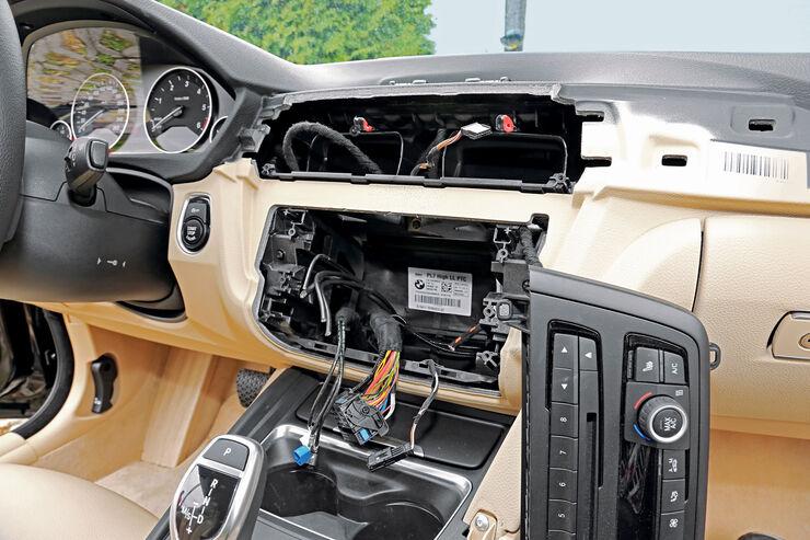 Diebstahl, BMW 420d, Autoeinbruch
