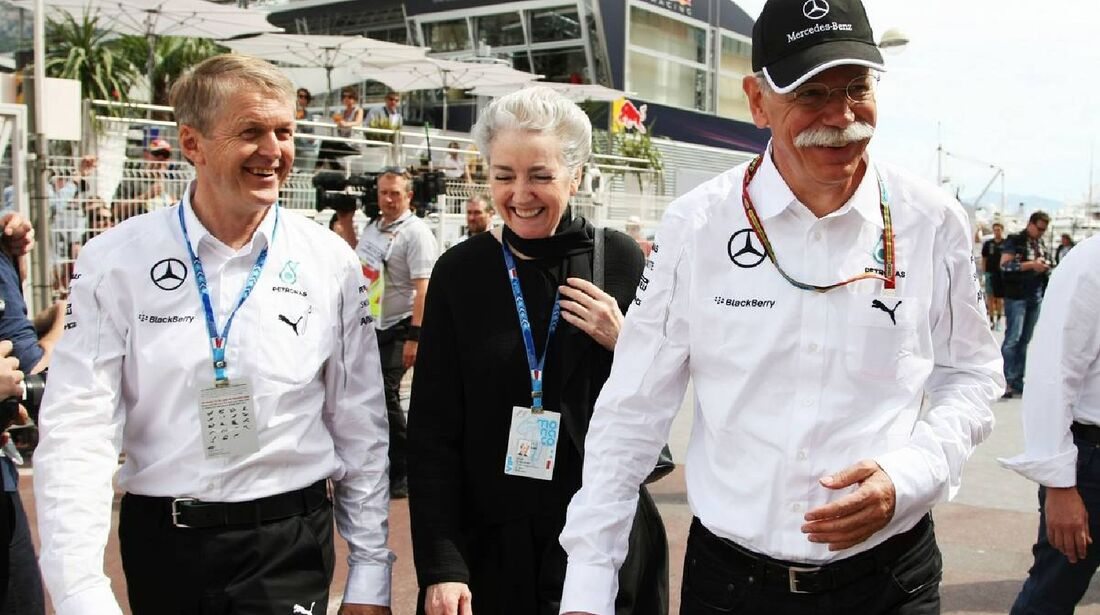 Dieter Zetsche - Mercedes  - Formel 1 - GP Monaco - 25. Mai 2014